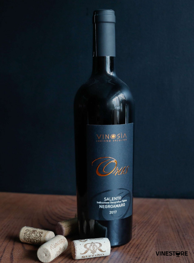 Вино Orus Negroamaro Vinosia 0.75 л