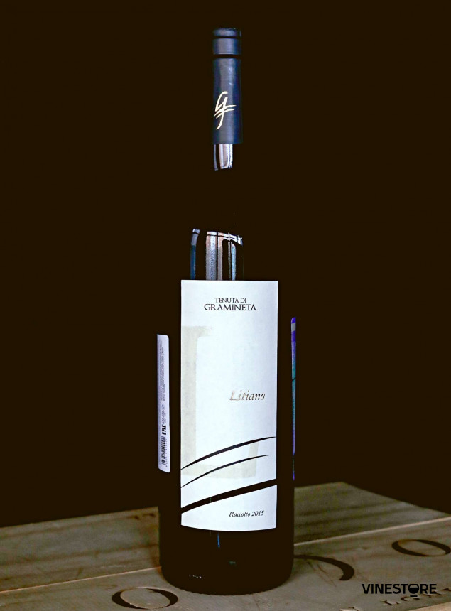 Вино Litiano Tenuta di GRAMINETA, 2015 0.75 л