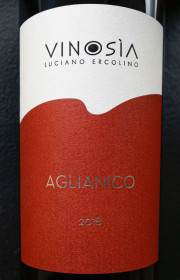 Вино Aglianico Vinosia красное сухое 2018