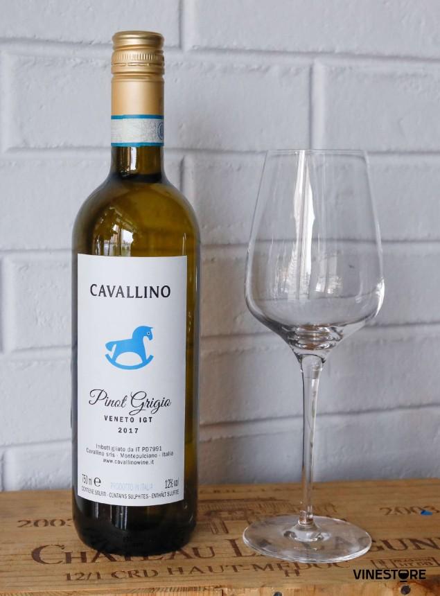 Вино Cavallino Pinot Grigio белое сухое 2017