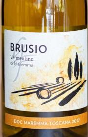 Вино Brusio Vermentino di Maremma 0.75 л