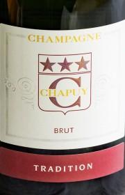 Champagne Chapuy Tradition Brut белое брют, сухое