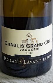 Вино Roland Lavantureux Chablis Grand Cru Vaudesir 0.75 л