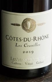 Вино Cotes-du-Rhone Les Cranilles 0.75 л