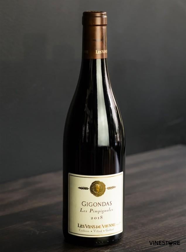 Вино Gigondas Les Pimpignoles 0.75 л